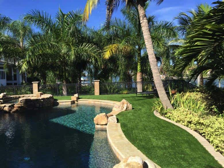 Miami premium artificial grass installations