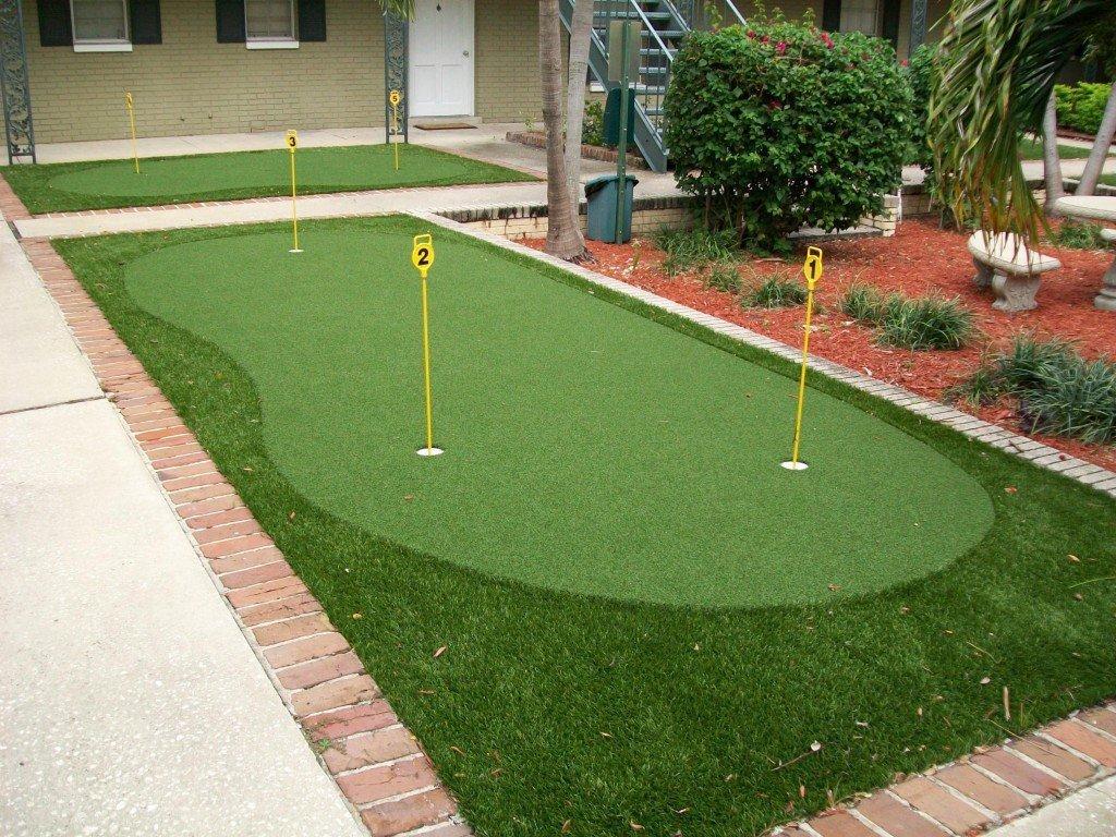 Technology Management Image: Putting Greens & Golf